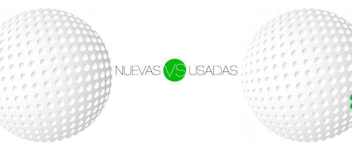 Bolas de golf nuevas o usadas - ¿cual elegir?