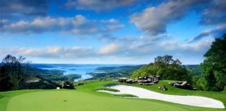 Golpes de golf cerca del green