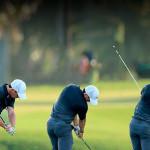 Los golpes perfectos en golf se consiguen practicando, practicando y practicando más