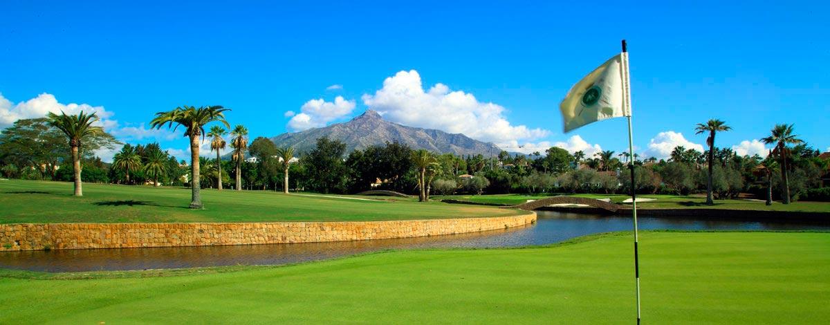 Real Club de Golf Las Brisas situado en Marbella, es considerado uno de los mejores campos de golf de España