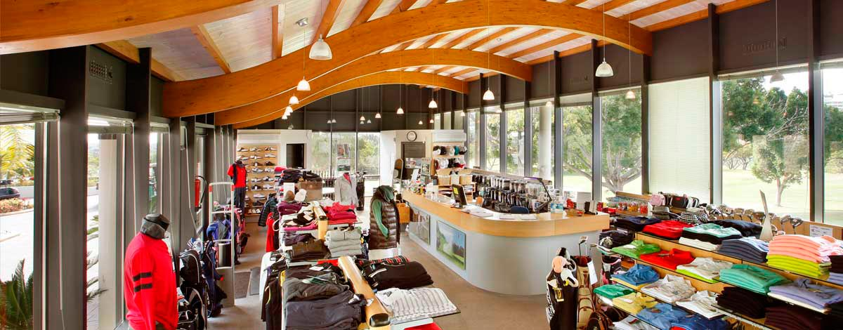 Tienda del Real Club de Golf las Brisas