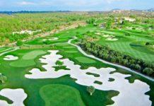 Campo de Golf Son Gual en la isla de Mallorca