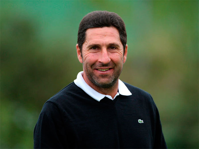 José María Olazabal - ganador dos chaquetas verdes