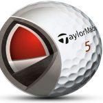 Diferentes capas de una bola de golf