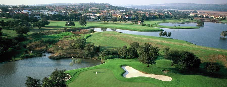 Lagos en los campos de golf