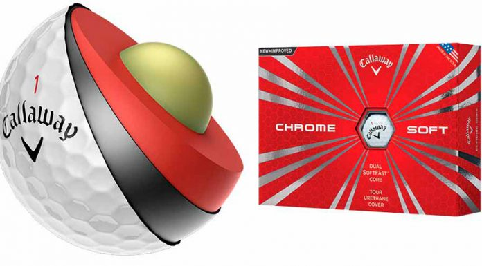 Bola de Golf Callaway Chrome Soft