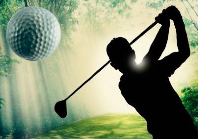 Mantén siempre una actitud positiva en un torneo de golf