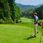 La mentalidad ideal para afrontar un torneo de golf debe ser positiva.
