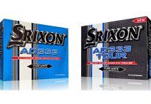 Bolas de golf Srixon AD333 y Srixon AD333 Tour