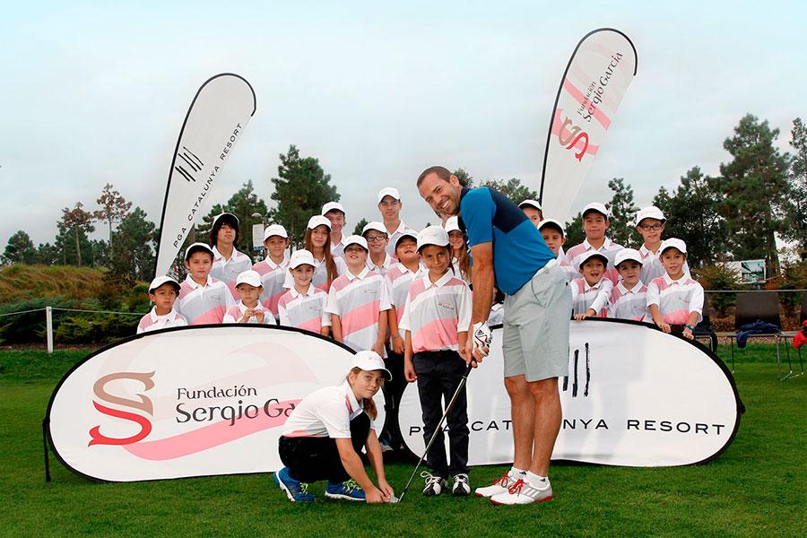Fundación de golf Sergio García