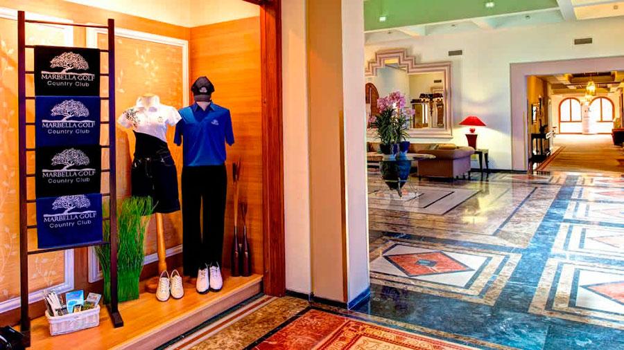 Tienda de Golf en el Marbella Country Club