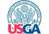 Us Open logo - Abieto de golf de los Estados Unidos