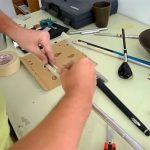 Cambiando la empuñadura de un palo de golf
