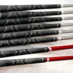Varilas de golf de hierro y grafito