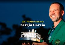 Masters de Augusta - Portada oficial 2017 de la web (masters.com) del torneo.