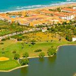 Real Novo Sancti Petri Golf Club a orillas del Océano Atlántico