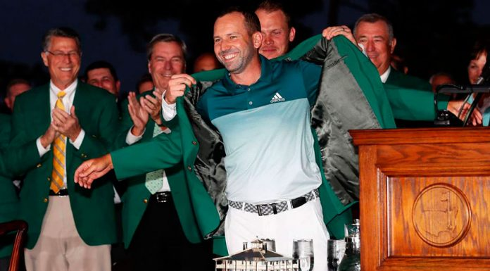 Sergio García - vencedor del Masters de Augusta 2017