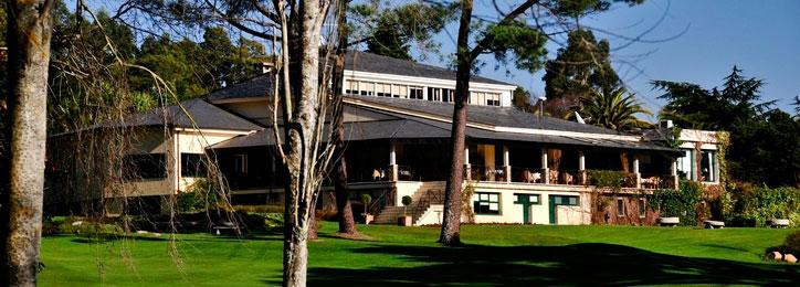 Chalet social del Real Club de golf La Coruña