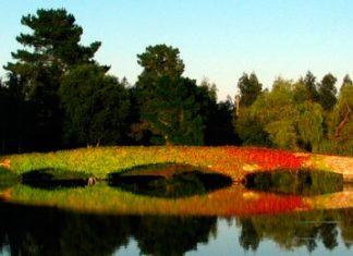 Puente en el Real Club de golf La Coruña