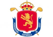 Escudo de la Real Federación Española de Golf