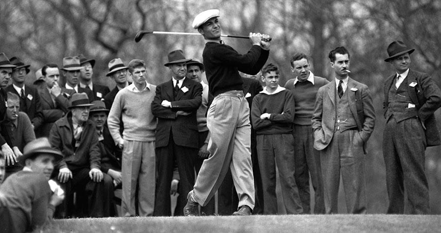 Ben Hogan en el año 1940