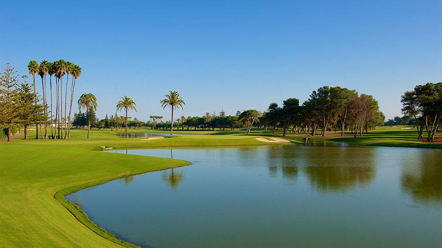 Campo de golf Sotogrande en Cádiz