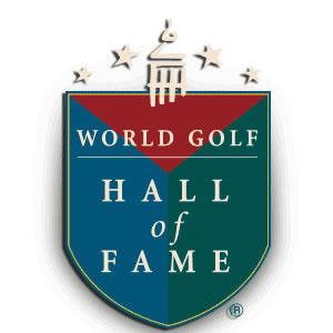 Isologotipo del Salón de la Fama del Golf Mundial