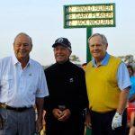 Arnold Palmer, Jack Nicklaus y Gary Player en el Abierto de Australia