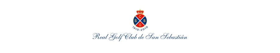 Isologotipo del Real Club de Golf en San Sebastián