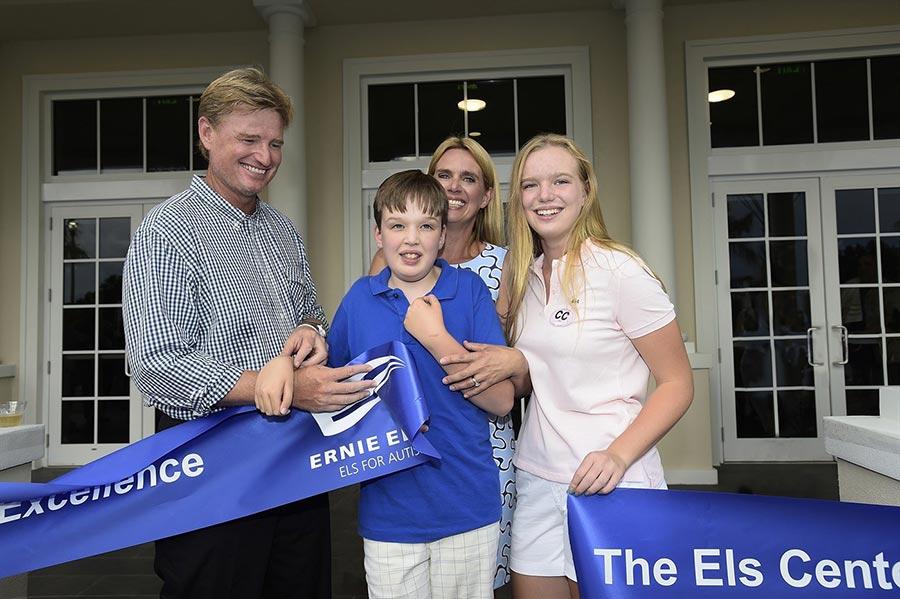 Fundación de Ernie Els contra el autismo