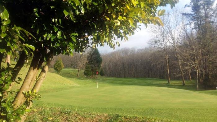 Hoyo inicial del Goiburu Golf Club