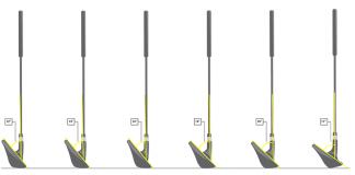 Ángulos loft de los palos de golf