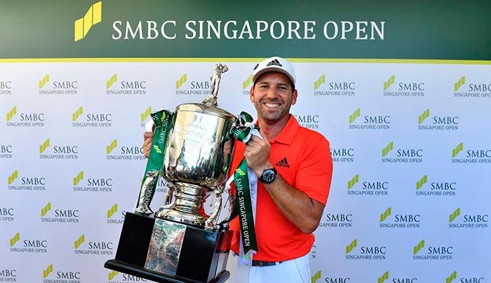 Sergio Garcia ganador del abierto de Singapur 2018