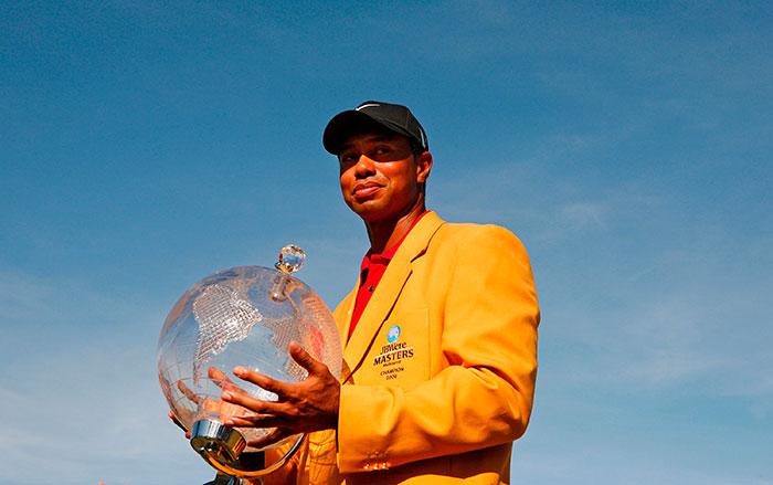 Tiger Woods - Masters de Australia