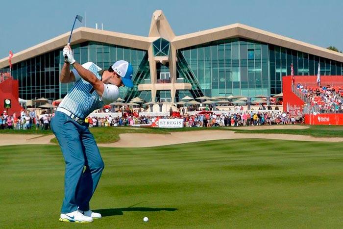 Torneo golf Abu Dhabi