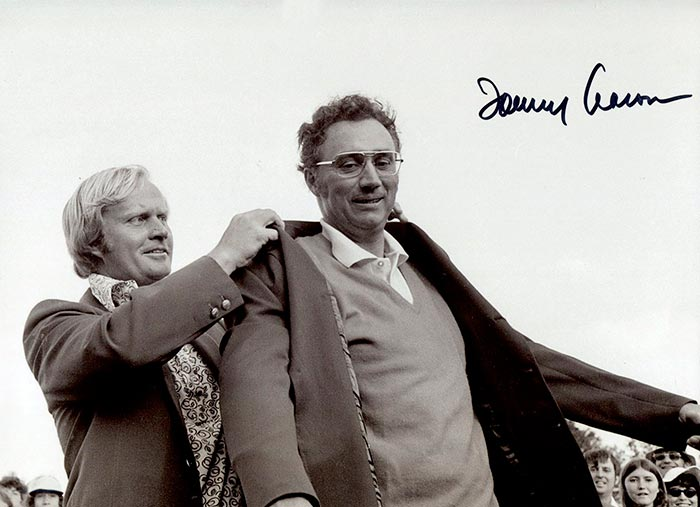 Foto firmada por Tommy Aaron