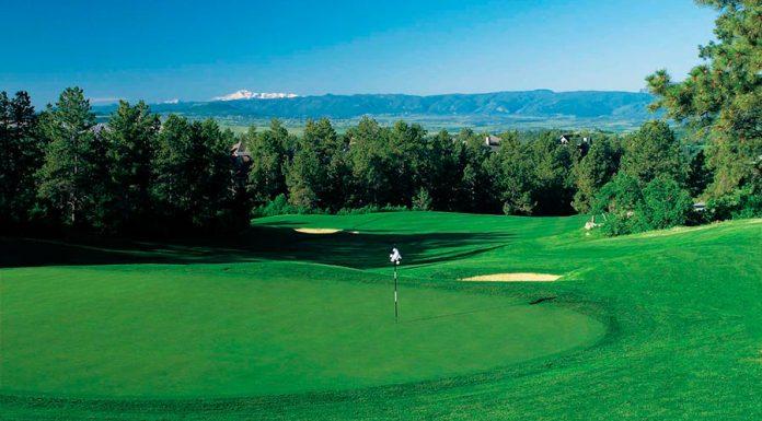 Campo de golf The Ridge en Castle Pines North - Denver - Colorado