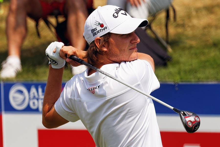 Emiliano Grillo en el abierto de Francia de golf de 2015