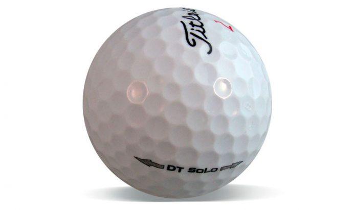 Titleist DT SoLo - la bola más suave - mundogolf.golf