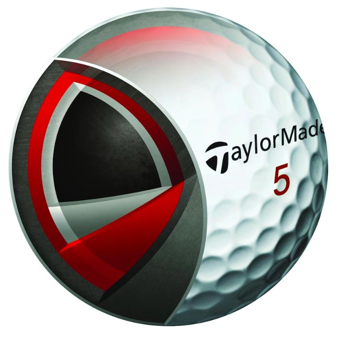 Núcleo de la Taylor Made Penta TP5 | MundoGolf.golf