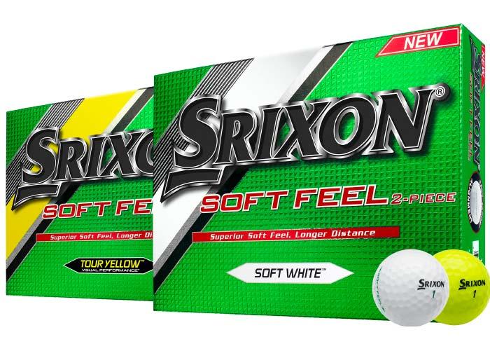 Srixon Soft Feel disponible en blanco y amarillo | MundoGolf.golf