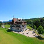 Casa club del Evian Resort Golf Club