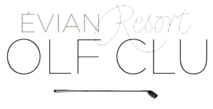 Logotipo Evian Resort Golf Club