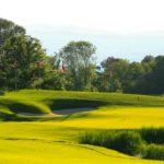 Preciosa vista del Evian Resort Golf Club
