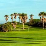 Espectacular vista del campo de golf Costa Ballena Ocean