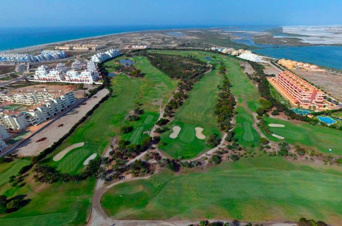 Vista aérea Club de Golf Playa Serena - Roquetas de Mar, Almería