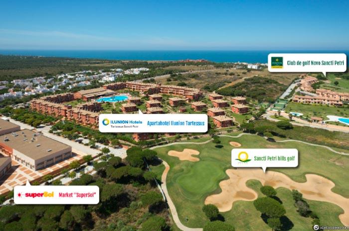 Hoteles cercanos al Sancti Petri Hills Golf