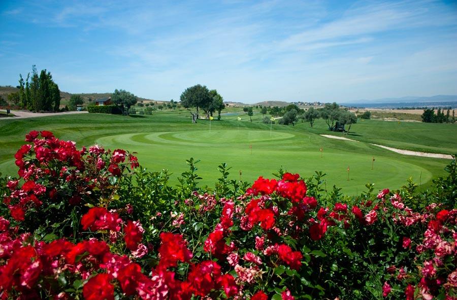 Club de golf Retamares en Madrid