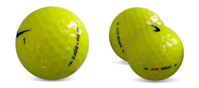 Bolas de golf Nike amarillas