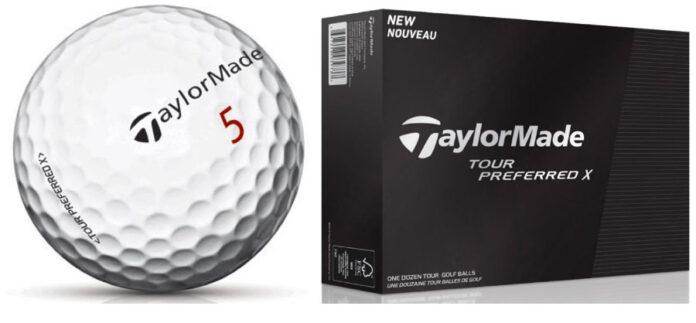 Bola de golf TaylorMade Tour Preferred → MundoGolf.golf